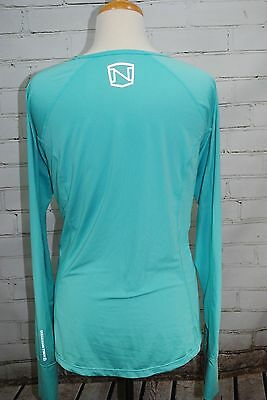 Noble Outfitters Hailey Long Sleeve Performance Fitness Shirt Top Women's Large