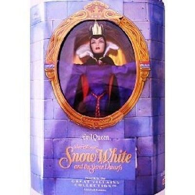 EVIL QUEEN Barbie Disney Limited Edition Snow White and the 7 Dwarfs ~ No Box