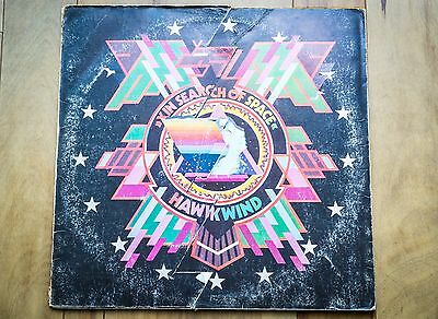 HAWKWIND In Search of Space 1971 1st Press With log Book