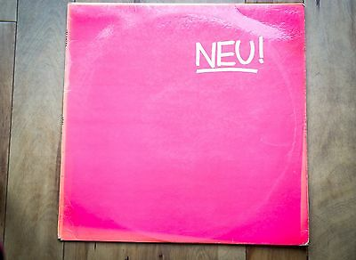 Neu ! LP RARE ORIGINAL UK 1ST PRESSING  LAMINATED SLEEVE