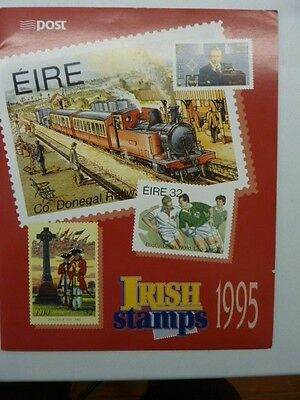 1995 Irish Stamps annual collection stamp pack issue