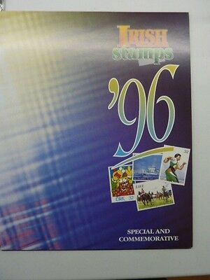 1996 Irish Stamps annual collection stamp pack issue