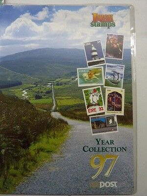 1997 Irish stamps annual collection stamp pack issue