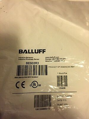 Balluff Sensor BES03R3 new in package (BS39)