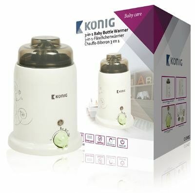 Electric bottle baby food warmer suitable for wide bottles like Avent,Tippee EU