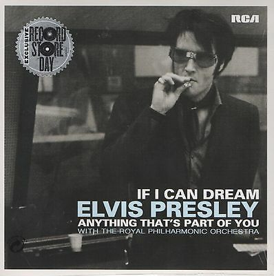 "7"" Elvis Presley - If I can dream / Anything that`s part of you - PS - neu/OVP"