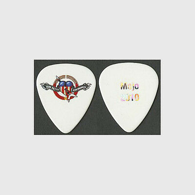 Tom Petty Mike Campbell 2010 Mojo concert tour stage collectible Guitar Pick