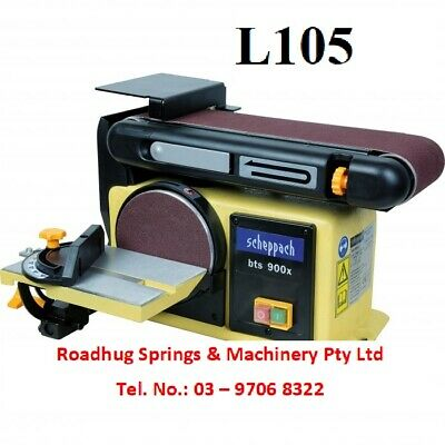 SANDER -  BELT & DISC LINISHER SANDER (HAFCO) Part No.: BTS 900X ORDER NO = L105