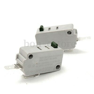 2PCS Normally KW3A Door Micro Switch Microwave Open DR52 Oven Rice Cooker US