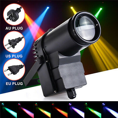 30W RGBW LED DMX512 Stage Lighting Pinspot Beam Spotlight 6CH DJ DISCO Party KTV