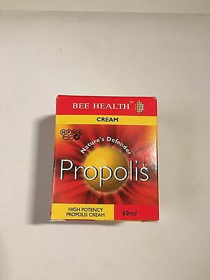 Bee Health Propolis Cream. Protect from Bacterial and Fungal Infections 30/60ml