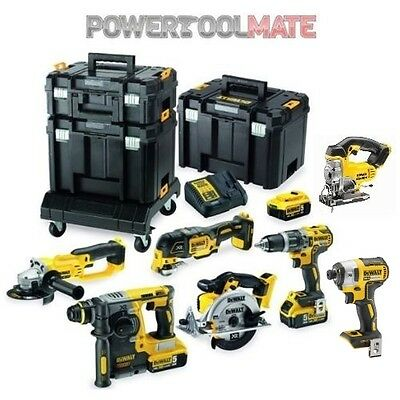 Dewalt DCK654P3T 18V XR 6 Piece Compact TSTAK­ Kit with 3 x 5.0Ah Li-Ion