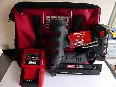 SENCO FUSION F-16S CORDLESS 18V FINISH NAIL GUN KIT DA BRADDER Brad NAILER