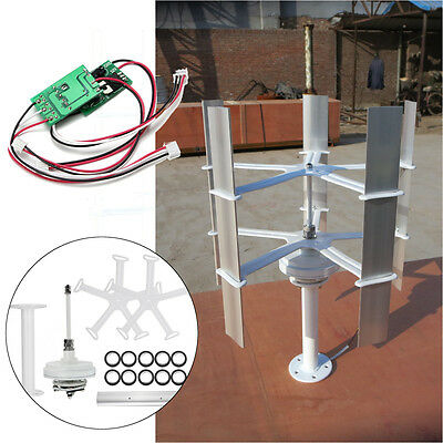 DC12V 10w Max 15W Domestic Wind Energy Generator Turbine 5 Blades High-efficient