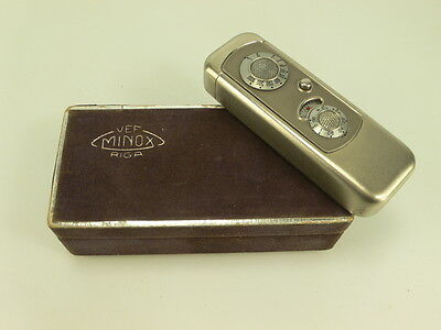 Vef Riga Minox Camera Box, Original, Rare