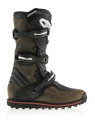 New 2017 Alpinestars Tech T Trials Boots - Brown Oiled Now In Stock