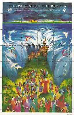 Timbres Religion Guyana 3467/90 ** année 1994 lot 20892