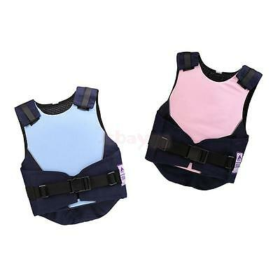 Kids Equestrian Horse Riding Safety Vest Eventer Body Protector Adjustable