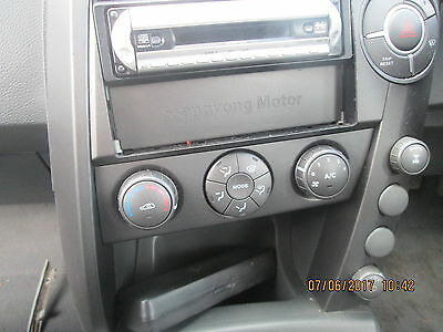 SSangyong Kyron Heater Control Panel 2.0 TD 2007