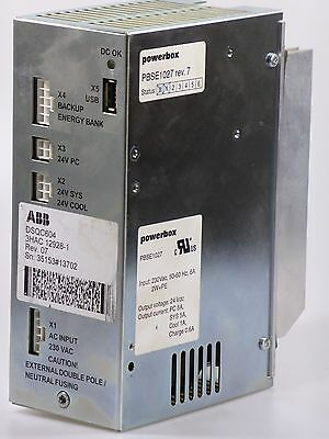 ABB DSQC 604 / DSQC604 3HAC12928-1 Rev. 07 Stromversorgung Power Supply Powerbox