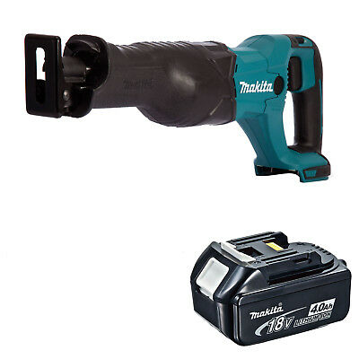 MAKITA 18V LXT DJR186 DJR186Z DJR186RFE RECIPROCATING SAW AND 1 x BL1840