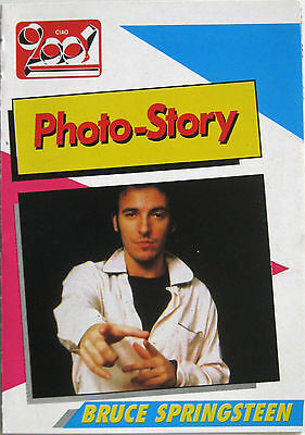 BRUCE SPRINGSTEEN Photo-Story Ciao 2001 1985