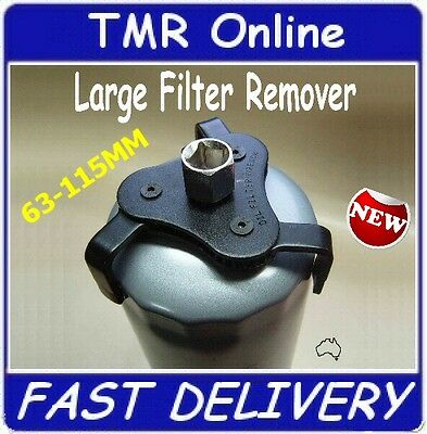 Truck Size 63-115mm Filter Removing Tool, Oil Filter Remover Wrench, All Metal