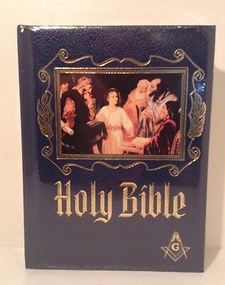 New Masonic Heirloom Family Bible - Unopened - King James Version