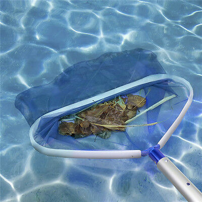 Professional Heavy Duty Deep Bag Swimming Pool Skimmer Mesh Net Leaf Rake Tools