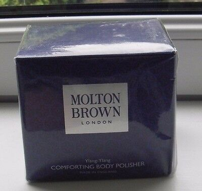 Molton Brown Comforting Body Polisher 275g Ylang-Ylang, Boxed & Sealed