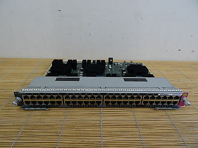 Cisco WS-X4748-UPOE+E  Catalyst 4500E 48-Port 802.3af  802.3at PoEP UPOE PoE