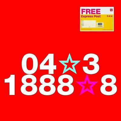 Gold *lucky 8* mobile phone number PREMIUM 04x31888z8 with trio SIM card