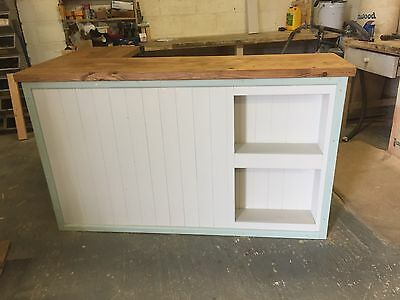 Solid Wood Hand Made Shop Counter - Retail Display