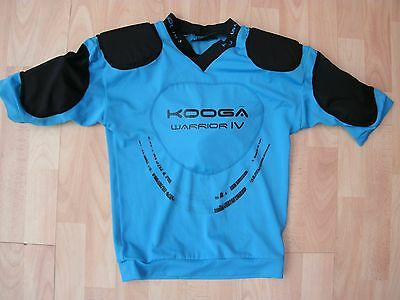 Kooga Warrior Body Armour Padded Shoulders Chest Arms Shirt Jersey Small Adult