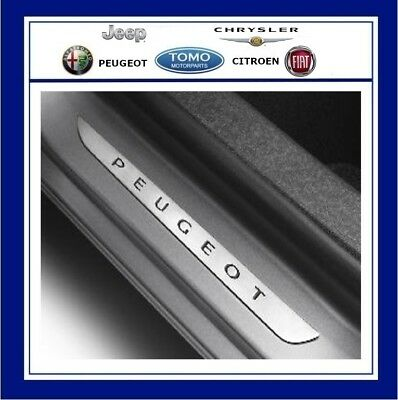 New Genuine Peugeot 2008 5 door front Sill Guards Trims kick plate 1608204880