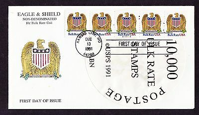 FDC PNC 10c E & S A11111 Combo 10K Label   US 2602 BY1 Variety