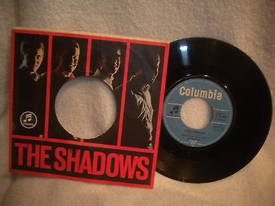 """7"""" The Shadows -- Genie With The Liht Brown Lamp / Little Princess"""