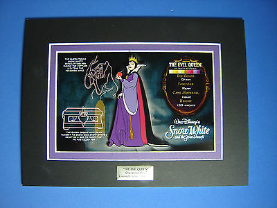 Evil Queen Acme Character Key and Jumbo Disney Pin LE 250 VHTF Snow White