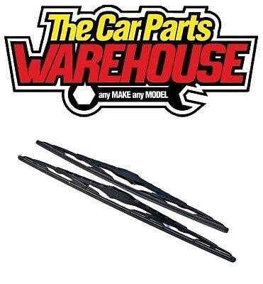 2 x 20 Inch Brand New Conventional Windscreen Wiper Blades Pair Free Delivery