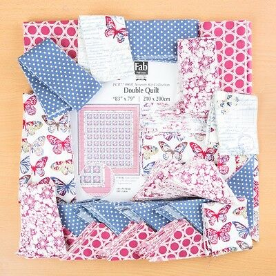 FabScraps Serenity Double Quilt Kit - Bold