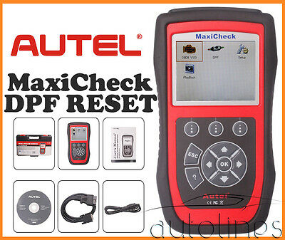 AUTEL MaxiCheck DPF Reset OBDII Diesel Particulate Filter Diagnostic Scan Tool