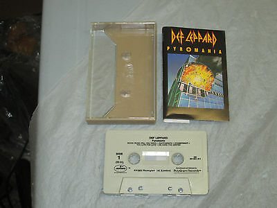 Def Leppard - Pyromania (Cassette, Tape) WORKING GREAT TESTED
