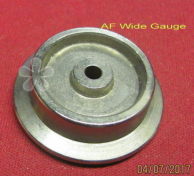 American Flyer Wide Gauge Turned Trail wheel, repro, NEW