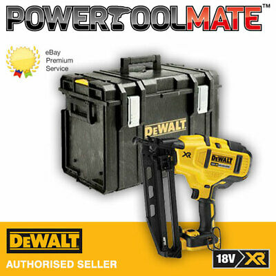 Dewalt DCN660N 18V XR 2nd Fix Brushless Nailer (Body Only) with Carry Case
