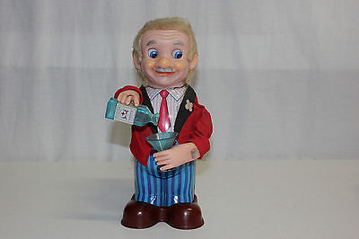 Yonezawa Y Japan Battery Operated Blushing Willy Bartender Toy EX Works L@@K