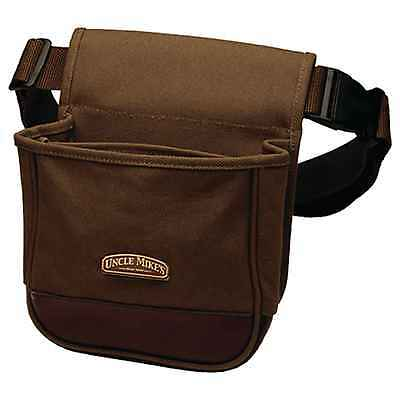 Uncle Mikes Deluxe Canvas Shell Pouch Brown, 42140