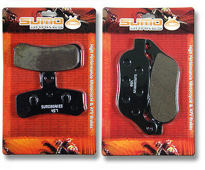 Harley F+R Brake Pads Super Glide Custom & Street Bob (08-14) Low Rider Fat Boy