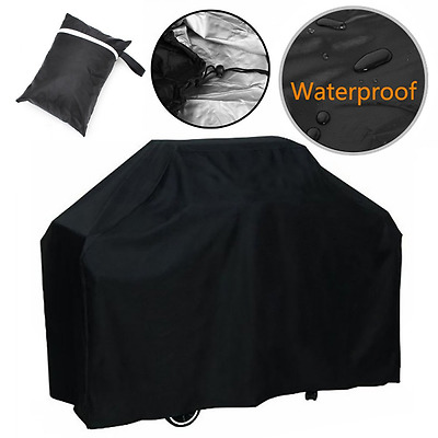 Barbecue Cover Heavy Duty Waterproof BBQ Grill Cover Small 145cm Outdoor New