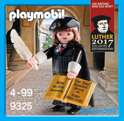 PLAYMOBIL® 9325 Martin Luther 500 Years of Reformation 2017 - S&H FREE WORLDWIDE