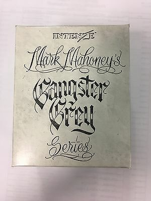 Intenze Authentic Tattoo Ink Artist Series Mark Mahoney's Gangster Grey 6 Pcs